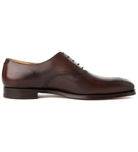 Crockett Jones Edgware Oxford Shoes Dark Brown