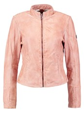 Gipsy Leather Jacket Dusty Rose