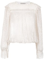 Martha Medeiros Georgette Blouse 60