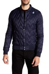 K Way Louis Light Thermo Jacket Blue