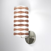 Jefdesigns Weave 3 Wall Sconce Jd_Weave3_Walnut_Soma Walnut Brown