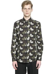 Ports 1961 Star Camouflage Cotton Poplin Shirt