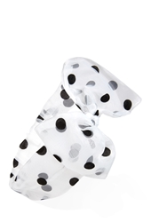 Forever 21 Polka Dot Bow Headwrap
