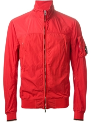 C.P. Company Cp Company Zip Front Jacket Red