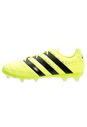 Adidas Performance Ace 16.2 Fg Football Boots Solar Yellow Core Black Silver Metallic Neon Yellow