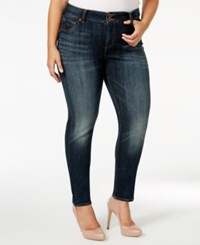 Lucky Brand Emma Navy Wash Straight Leg Jeans
