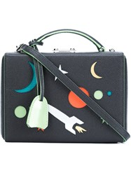 Mark Cross Mini 'Galaxy' Tote Grey