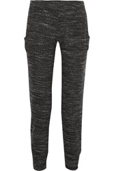 Lna Harley Marled Knitted Tapered Pants Black