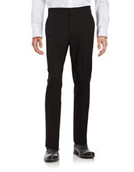 Kenneth Cole Reaction Straight Leg Pants Black