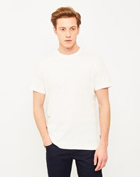Barbour Textured Stripe T Shirt Off White