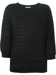 Sessun 'Little Diamond' Sweater Black