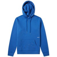 Soulland Logic Small Logo Hoody Blue