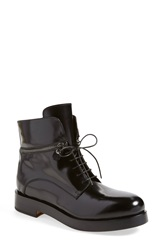 Atl Attilio Giusti Leombruni Attilio Giusti Leombruni Zipper Trim Boot Women Black Leather