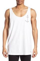 Men's Rhythm 'Oil Spill' Graphic Tank White
