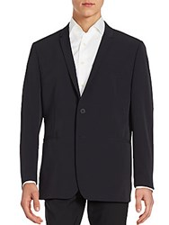 Porsche Long Sleeve Solid Blazer Black