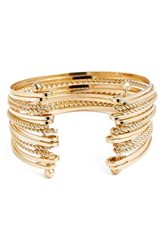 Junior Women's Bp. Twisted Chain Multi Row Cuff Bracelet