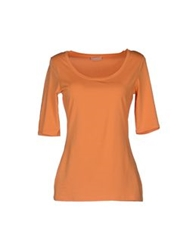 Cruciani Short Sleeve T Shirts Orange
