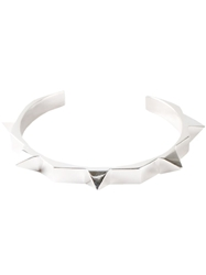 Tom Binns Studded Cuff Metallic