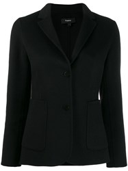 Theory Classic Fitted Blazer Black