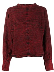 Rachel Comey Distressed Style Back Buttoned Blouse 60