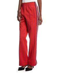 Marc Jacobs Jersey Track Pants Red