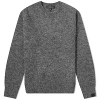 Rag And Bone Arnie Crew Knit Grey