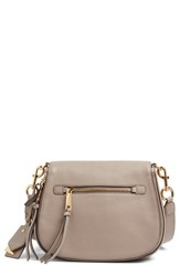 Marc Jacobs Recruit Nomad Pebbled Leather Crossbody Bag Beige Mink