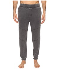 Ugg Bradi Washed Jogger Pants Black Men's Pajama