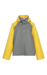 Marni Hooded Raincoat Grey