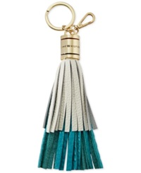 Tommy Hilfiger Layered Tassel Key Fob Turquoise White