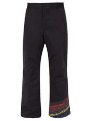 Fendi Ff Logo Ski Trousers Black