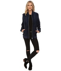Obey Nomads Jacket Navy Women's Coat