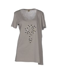 Jijil Topwear T Shirts Women Grey
