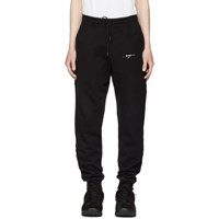 Off White Black Diagonal Marker Arrows Lounge Pants