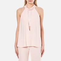 Bec And Bridge Women's Abella High Neck Top Musk Pink