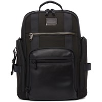 Tumi Black Alpha Bravo Sheppard Deluxe Packa Backpack
