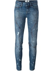 Faith Connexion Distressed Jeans Blue