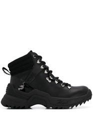 Karl Lagerfeld Quest Cross Lace Mid Rise Trainers 60