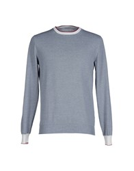 Kangra Cashmere Knitwear Jumpers Men Dark Blue