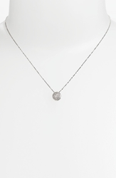 Bony Levy 'Eclipse' Pave Diamond Pendant Necklace Nordstrom Exclusive White Gold