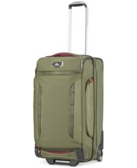 High Sierra At8 26 Wheeled Duffel Backpack Olive