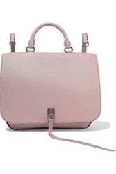 Rebecca Minkoff Woman Darren Medium Convertible Pebbled Leather Backpack Blush