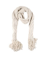 Paolo Pecora Accessories Oblong Scarves Men Ivory