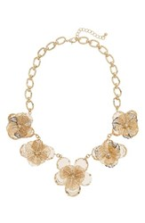 Leith Women's Floral Statement Necklace