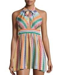 Missoni Mare Zigzag Beach Coverup Dress Multicolor