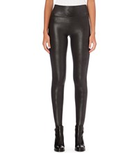 Spanx High Rise Faux Leather Leggings Black