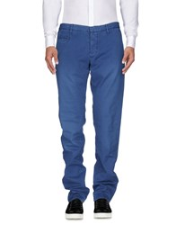 Incotex Red Casual Pants Slate Blue