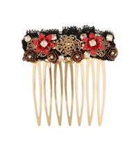 Dolce And Gabbana Exclusive To Mytheresa.Com Embellished Hair Comb Multicoloured