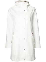 Hunter Core Hooded Hunting Coat White