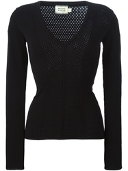 Fausto Puglisi V Neck Sweater Black
